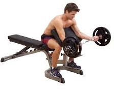 Body-Solid Preacher Curl Station -3