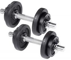 Tunturi Dubbele Dumbellset 20 kg (2 x 10 kg)