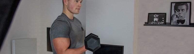 Dumbbell oefeningen voor een full-body workout