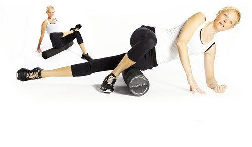 Gymstick Pro Foam Roller Met Trainingsvideo - 45 cm