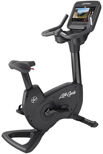 Life Fitness Platinum Discover SE3 Lifecycle Hometrainer- Black Onyx - Gratis montage