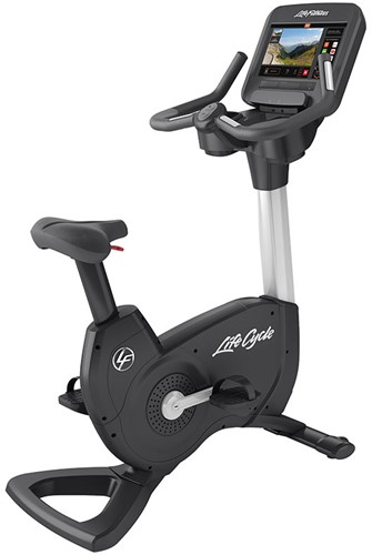 Life Fitness Platinum Discover SE3 Lifecycle Hometrainer - Diamond White - Gratis montage