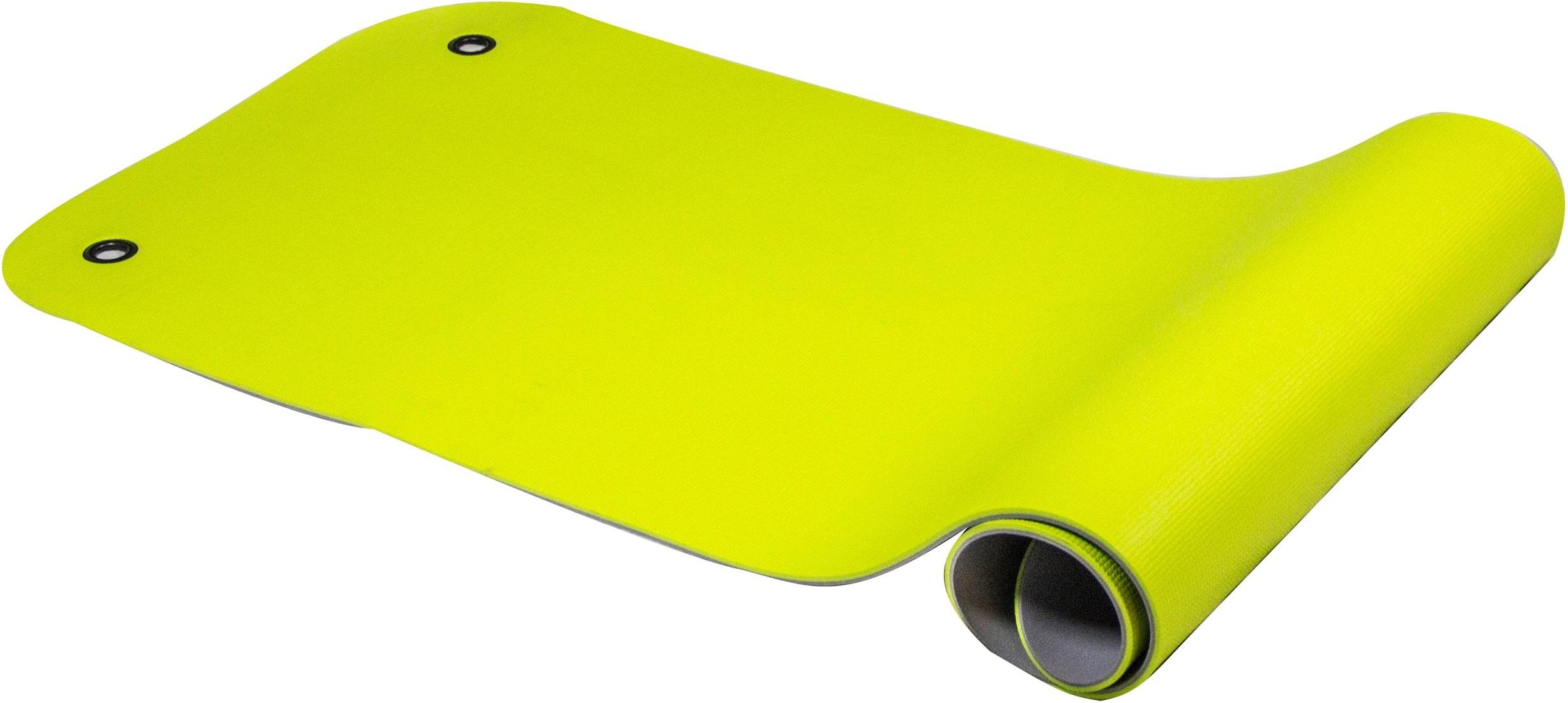 Reha Fit Fitnessmat Limoen-Grijs 180x65 cm
