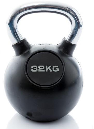 Kettlebell 32 kg rubber
