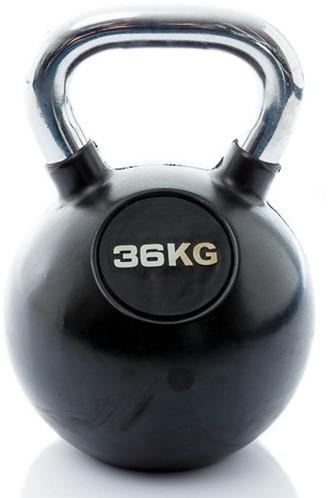 Kettlebell 36 kg rubber