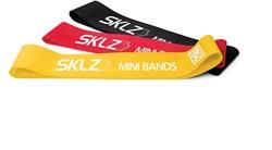 SKLZ Mini bands - Multi-Resistance training band set met mobiele video's