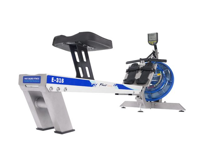 First Degree E316 Fluid Rower Roeitrainer