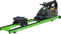 First Degree Fitness Neon Rower - Groen - Gratis montage