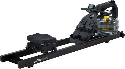 First Degree Fitness Neon Rower - Zwart - Gratis montage
