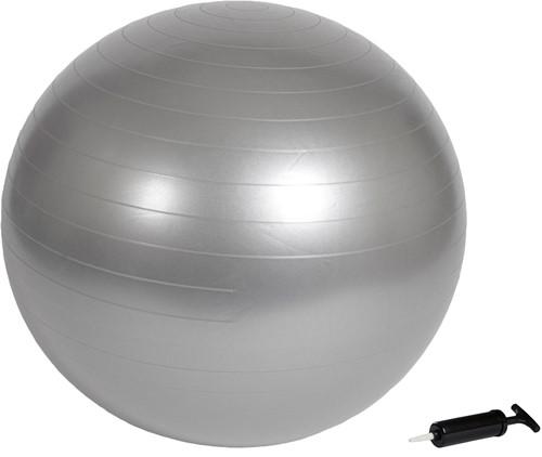 VirtuFit Anti-Burst Fitnessbal Gymbal Grijs 55 cm met Pomp