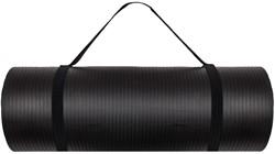 VirtuFit NBR Fitnessmat 180 x 60 x 1,5 cm met Draagkoord