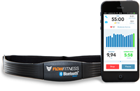 Flow Fitness BlueTooth Borstband-2