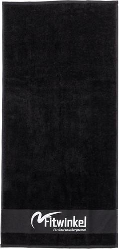 Fitwinkel Handdoek - 100 x 50 cm - Zwart