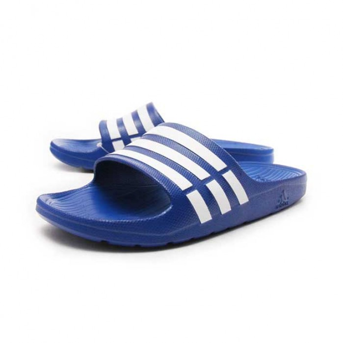 Adidas Duramo Slippers Slide Blauw 47