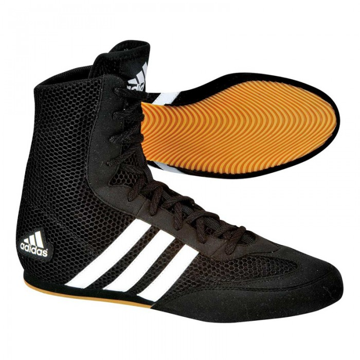Adidas Box Hog II Zwart Wit 40