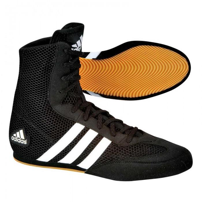 Adidas Box Hog II Zwart Wit 42