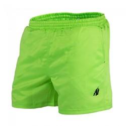 Gorilla Wear Miami Shorts - Neon Lime