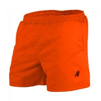Gorilla Wear Miami Shorts - Neon Orange-1
