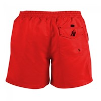 Gorilla Wear Miami Shorts - Red-2
