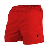 Gorilla Wear Miami Shorts - Red-1