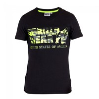 Gorilla Wear Sacramento V-Neck T-Shirt - Black/Lime Neon-1