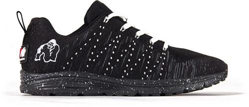 Gorilla Wear Brooklyn Knitted Sneakers (unisex) - Zwart/Wit