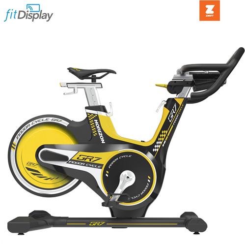 Horizon Fitness Indoor Cycle GR7 Spinningfiets - Gratis trainingsschema - Zwift Compatible