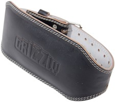 Grizzly Fitness 6 Inch Enforcer Padded Leather Belt ...