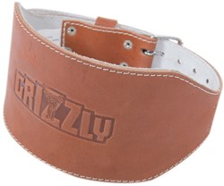 Grizzly Fitness 6 Inch Challenger Oiled Grain Leather Belt