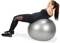 VirtuFit Anti-Burst Fitnessbal Pro - Gymbal - Swiss Ball - met Pomp - Grijs - 75 cm -3