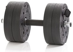 Gymstick Active Vinyl Dumbbell Set - 10kg - Met Online Trainingsvideo's