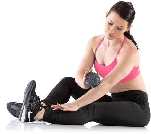 Gymstick Massage bal (9,5cm) - Met Online Trainingsvideo's-2