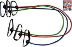 Gymstick weerstandkabels met handvaten