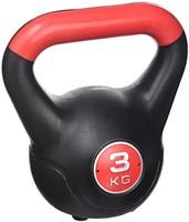 Gymstick Vinyl Kettlebell 3 kg met trainingsvideo