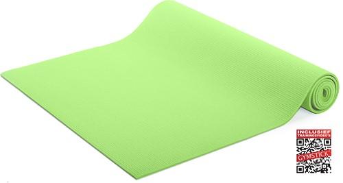 Gymstick Yogamat - Lime - Met online trainingsvideo's
