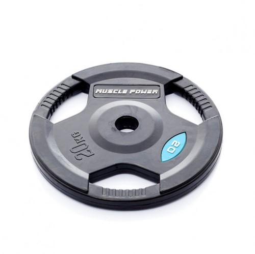 Muscle Power Rubberen Halterschijf - 50 mm - 20 kg
