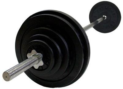 VirtuFit Halterset Gietijzer 150 kg