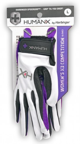 Harbinger Women's X3 Competition Crossfit Fitness Handschoenen Purple/Black-2