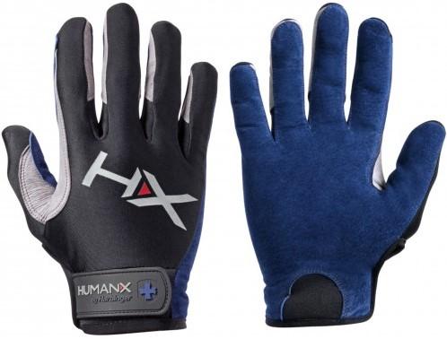 Harbinger Men's X3 Competition Crossfit Fitness Handschoenen Blue/Gray