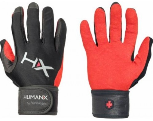 Harbinger Men's X3 Competition Crossfit Fitness Handschoenen Red/Black