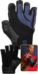 Harbinger Training Grip - Black/Blue - Arc - Outlet
