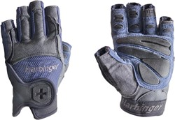 Harbinger Big Grip Fitness Handschoenen - Blue-Black