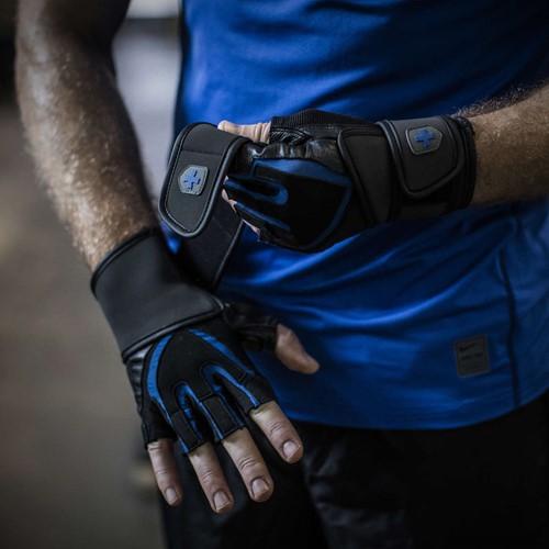 Harbinger Training Grip Gloves Black/Blue