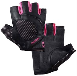 Harbinger Women's Pro Wash & Dry Gloves Black-Pink