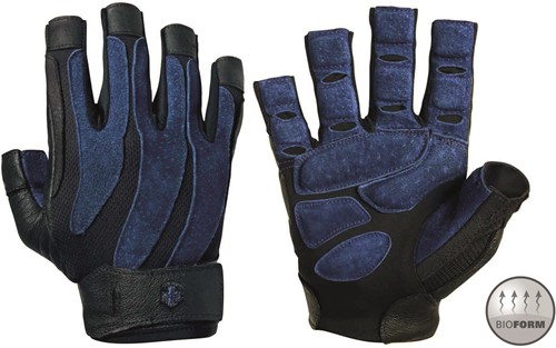 Harbinger BioForm Fitness Handschoenen - Black/Blue
