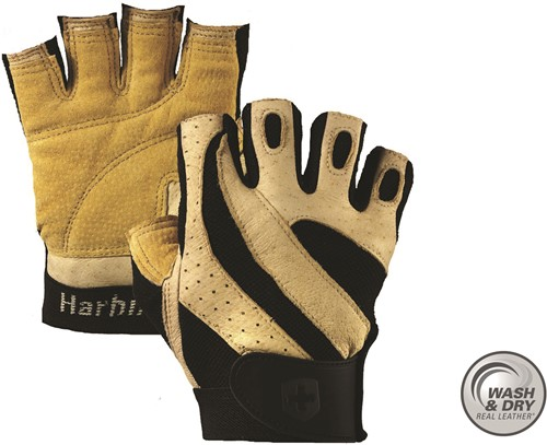 Harbinger Pro - Wash & Dry Fitness Handschoenen Natural