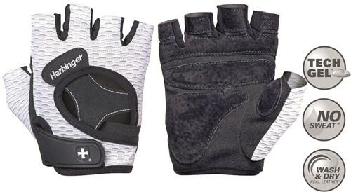 Harbinger Women's FlexFit Fitness Handschoenen - Wit - M