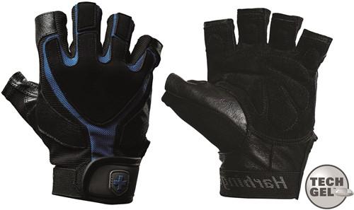 Harbinger Men's Training Grip Fitness Handschoenen - Zwart/Blauw