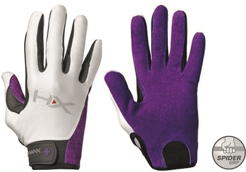 Harbinger Women's X3 Competition Crossfit Fitness Handschoenen - Paars/Wit