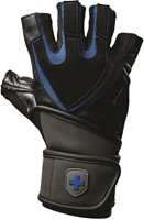 Harbinger Training Grip Gloves Black/Blue-1